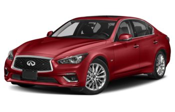 2021 Infiniti Q50 - Dynamic Sunstone Red Triple Clearcoat Metallic