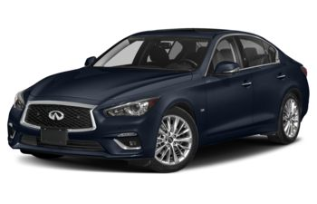 2021 Infiniti Q50 - Grand Blue Pearl