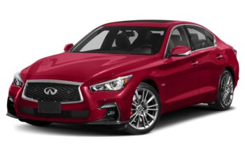 2019 Infiniti Q50 - Dynamic Sunstone Red Triple Clearcoat