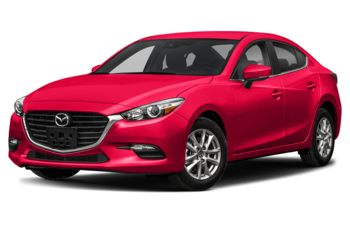 2018 Mazda 3 - Soul Red Metallic