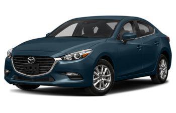 2018 Mazda 3 - Deep Crystal Blue Mica