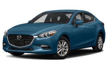 2018 Mazda 3 - Eternal Blue Mica
