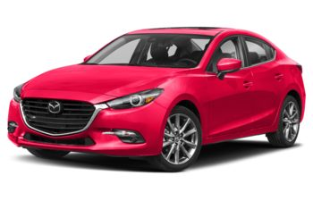 2018 Mazda 3 - Soul Red Metallic