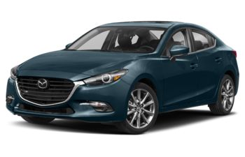 2018 Mazda 3 - Deep Crystal Blue Mica
