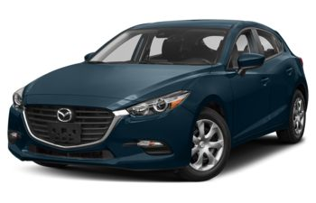 2018 Mazda 3 Sport - Deep Crystal Blue Mica
