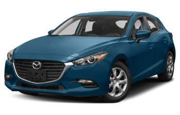 2018 Mazda 3 Sport - Eternal Blue Mica