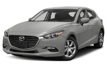 2018 Mazda 3 Sport - Sonic Silver Metallic