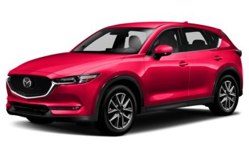 2018 Mazda CX-5 - Soul Red Crystal Metallic