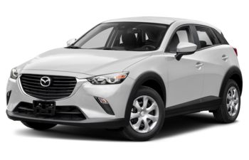 2018 Mazda CX-3 - Snowflake White Pearl