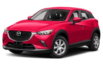 2018 Mazda CX-3 - Soul Red Metallic