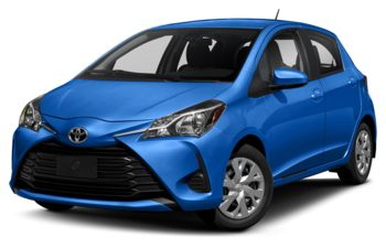 2018 Toyota Yaris - Blue Eclipse Metallic
