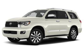 2018 Toyota Sequoia - Blizzard Pearl