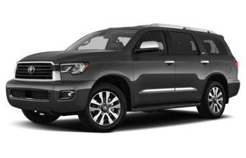 2018 Toyota Sequoia - Magnetic Grey Metallic