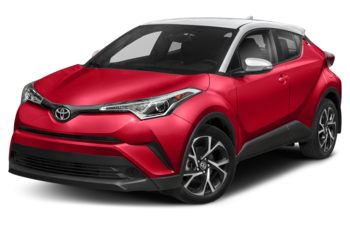 2018 Toyota C-HR - Ruby Flare Pearl w/White Roof