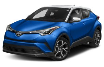 2018 Toyota C-HR - Blue Eclipse Metallic w/White Roof