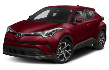 2018 Toyota C-HR - Blue Eclipse Metallic