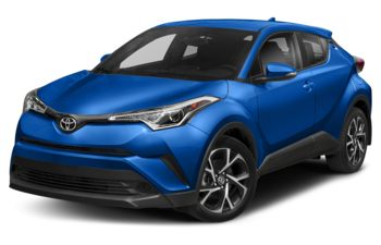 2019 Toyota C-HR - Blizzard Pearl with Black Roof