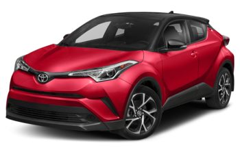 2019 Toyota C-HR - Ruby Flare Red with Black Roof