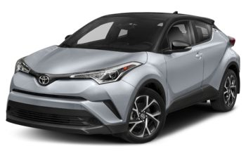 2019 Toyota C-HR - Silver Knockout Metallic with Black Roof