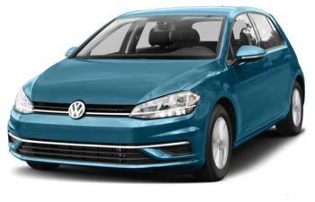 2018 Volkswagen Golf - Silk Blue Metallic