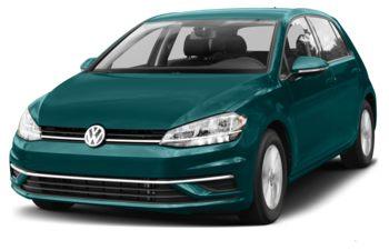 2018 Volkswagen Golf - Peacock Green Metallic