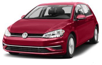 2018 Volkswagen Golf - Tornado Red