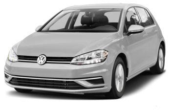2018 Volkswagen Golf - White Silver Metallic
