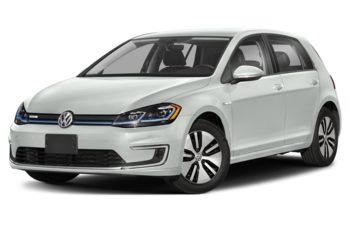 2020 Volkswagen e-Golf - Oryx White Pearl