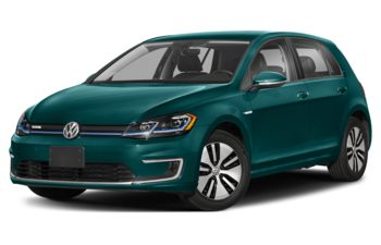 2019 Volkswagen e-Golf - Peacock Green Metallic
