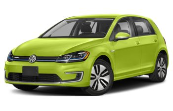 2020 Volkswagen e-Golf - Viper Green Metallic