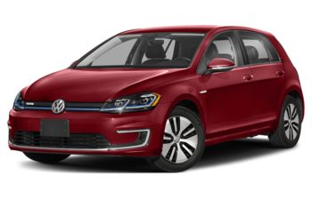 2020 Volkswagen e-Golf - Bordeaux Red Pearl