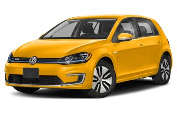 2020 Volkswagen e-Golf - Ginster Yellow