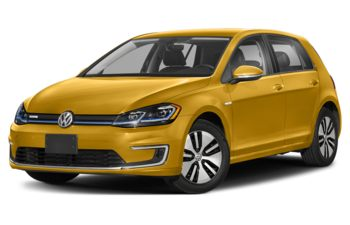 2020 Volkswagen e-Golf - Curry Yellow