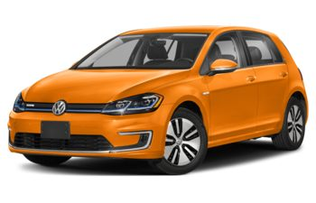 2020 Volkswagen e-Golf - Magma Orange