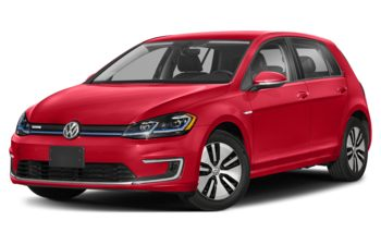 2020 Volkswagen e-Golf - Mars Red