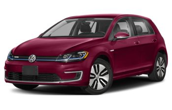2020 Volkswagen e-Golf - Oxide Red
