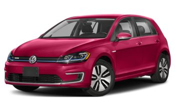 2020 Volkswagen e-Golf - Raspberry Red