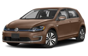 2018 Volkswagen e-Golf - Dark Violet Pearl