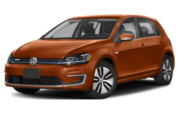 2020 Volkswagen e-Golf - Copper Orange Metallic