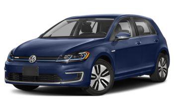 2020 Volkswagen e-Golf - Inky Blue Pearl