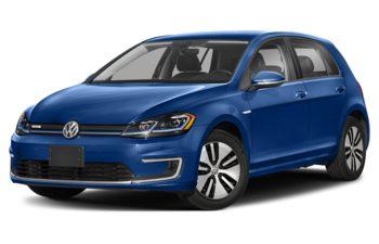2020 Volkswagen e-Golf - Nogaro Blue Pearl