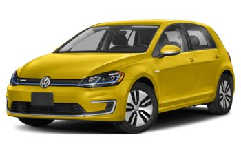 2020 Volkswagen e-Golf - Futura Yellow Metallic