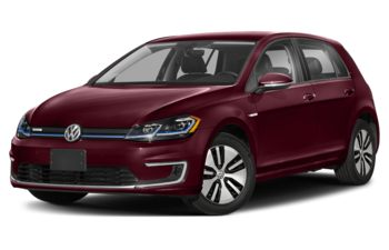 2020 Volkswagen e-Golf - Dark Burgundy Pearl
