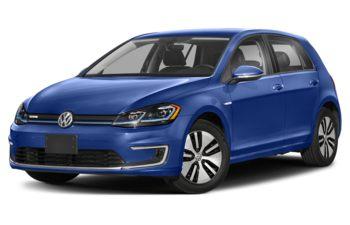 2020 Volkswagen e-Golf - Mystic Blue Pearl