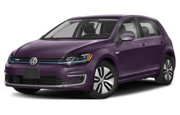 2020 Volkswagen e-Golf - Dark Violet Pearl