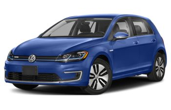 2020 Volkswagen e-Golf - Jazz Blue Pearl