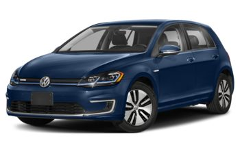 2020 Volkswagen e-Golf - Atlantic Blue Metallic