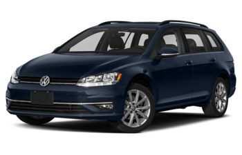 2019 Volkswagen Golf SportWagen - Night Blue Metallic