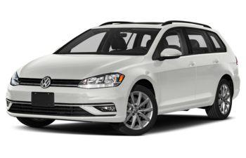 2019 Volkswagen Golf SportWagen - Pure White