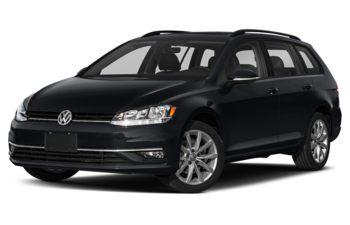 2019 Volkswagen Golf SportWagen - Deep Black Pearl